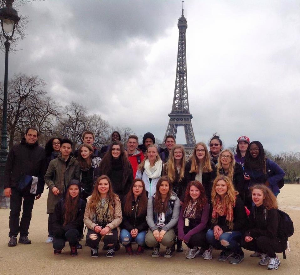SCA High School Students Trip to Paris