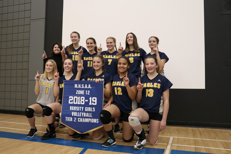 SCA Girls Volleyball Team