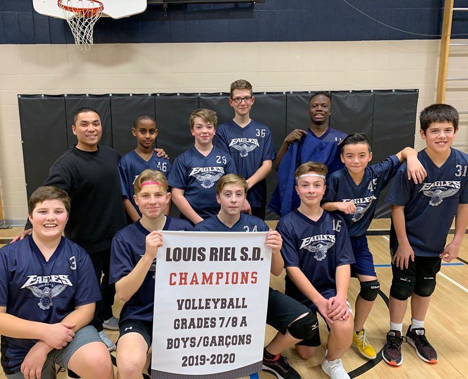 Volleyball Junior Boys Team of Springs Christian Academy