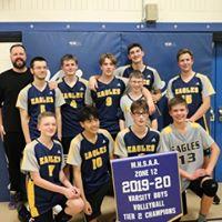 Volleyball Senior Boys Team of Springs Christian Academy