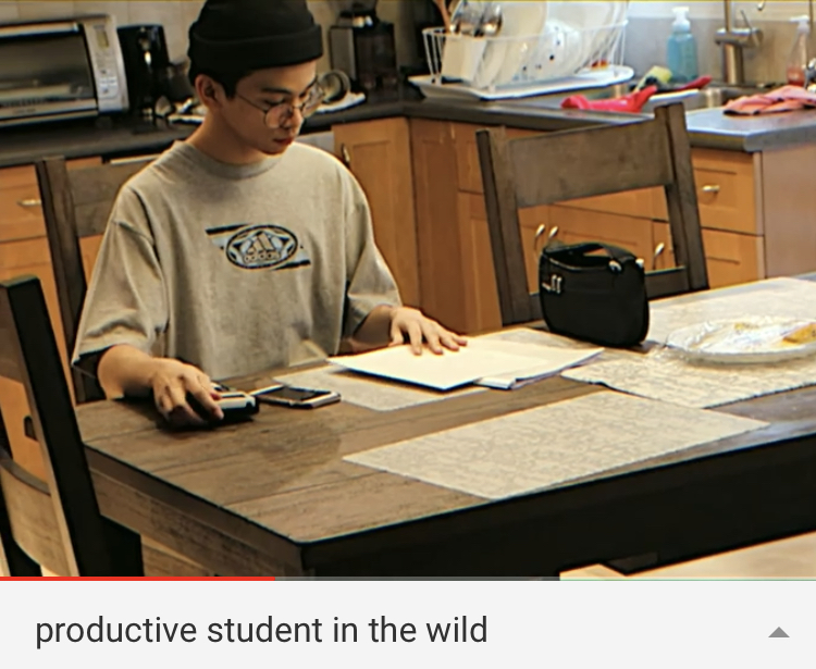 Short film created by student, Josh, on how to be productive during SCA Distance Learning
